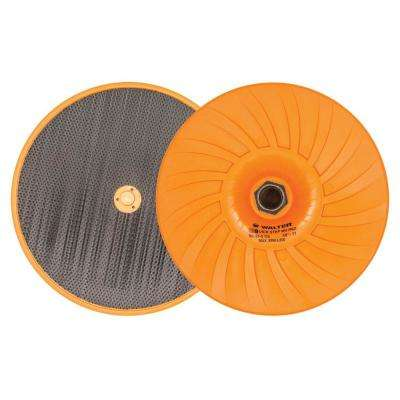 Quick-Step 7 in. x 5/8 in. to 11 in. Mega-Grip Velcro Backing Pad with Centering Pin