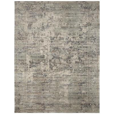 Camilla Graphite Greys 9 ft. 6 in. x 13 ft. Area Rug
