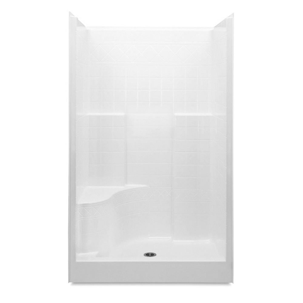 Aquatic Everyday Diagonal Tile AFR 48 in. x 36 in. x 76 in. 1-Piece ...