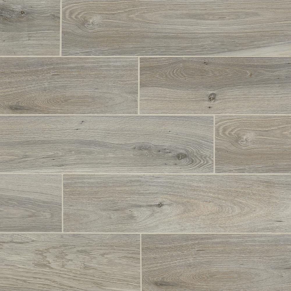 Daltile Evermore Ember Wood 6 In X 24 In Porcelain Floor