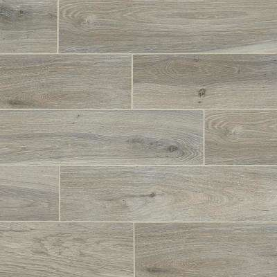 EverMore Ember Wood 6 in. x 24 in. Porcelain Floor and Wall Tile (14.55 sq. ft. / case)