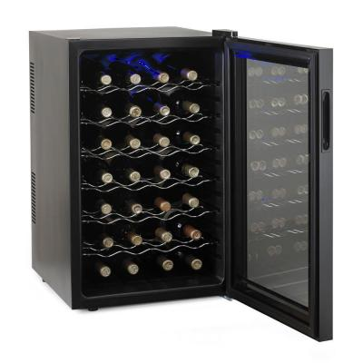 Silent 28-Bottle Touchscreen Wine Cooler
