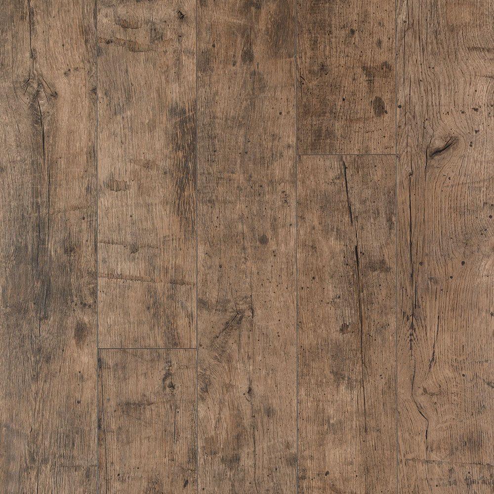 XP Rustic Grey Oak 10 mm T x 6.14 in. W x 54.33 in. L Laminate Flooring (20.86 sq. ft. / case)