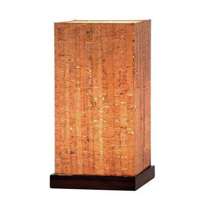 Sedona 13 in. Walnut Table Lamp