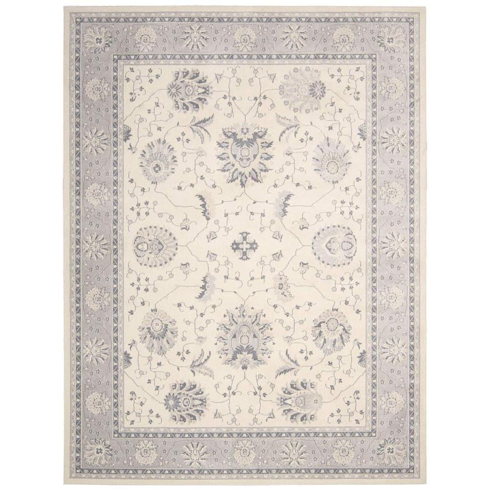 Maymana Ivory 3 ft. 9 in. x 5 ft. 9 in.