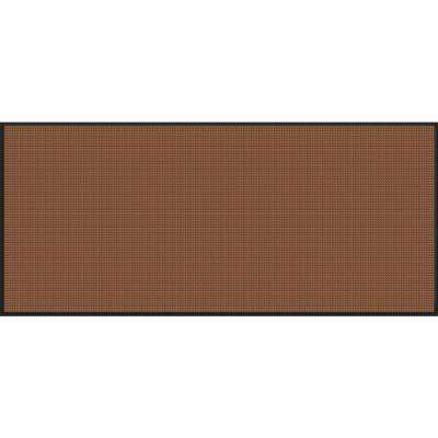 WaterGuard Dark Brown Motorcycle 45.5 in. x 108.75 in. Landing Pad