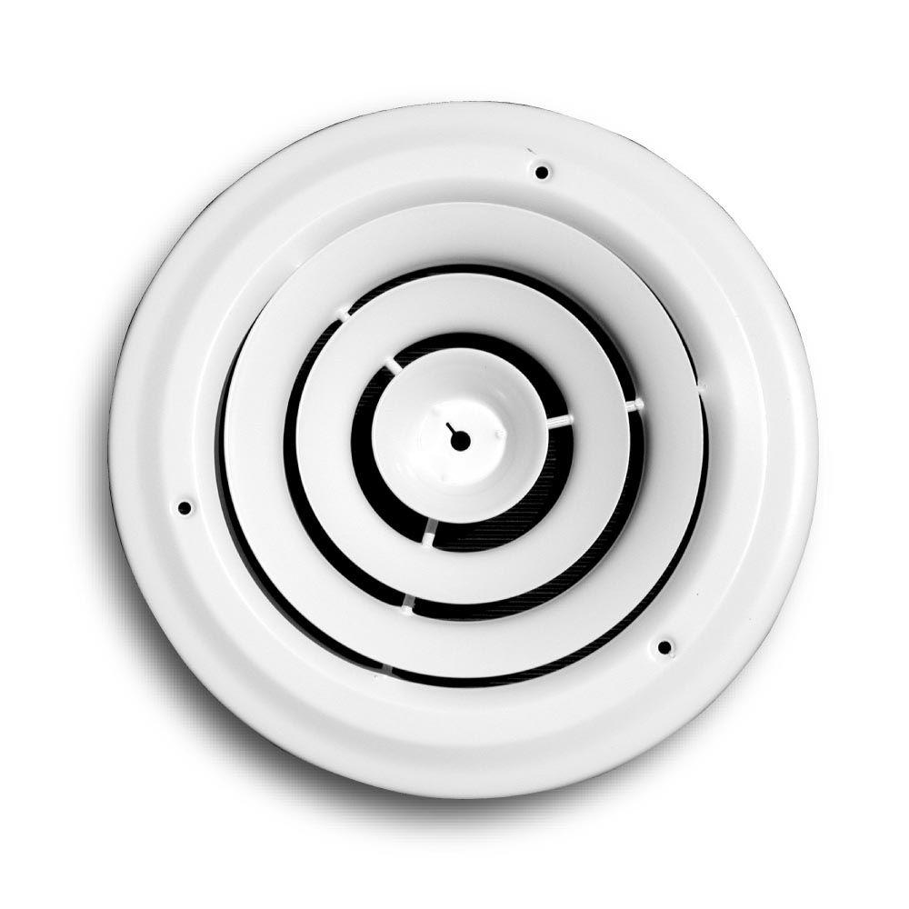 Truaire 14 In Round Air Diffuser 800 14 The Home Depot