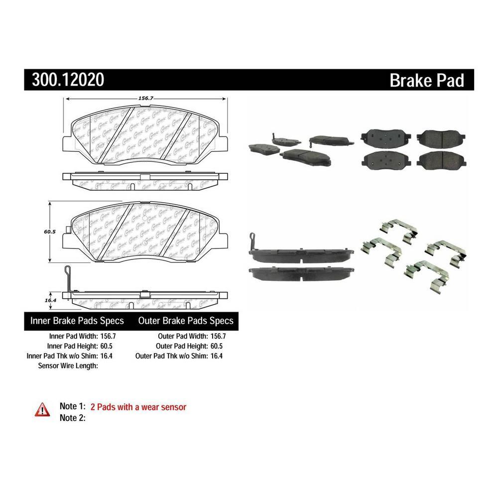 Centric 300.10030 Disc Brake Pad