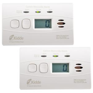 Kidde Worry Free 10-Year Battery Operated Digital Carbon Monoxide Alarm by Kidde