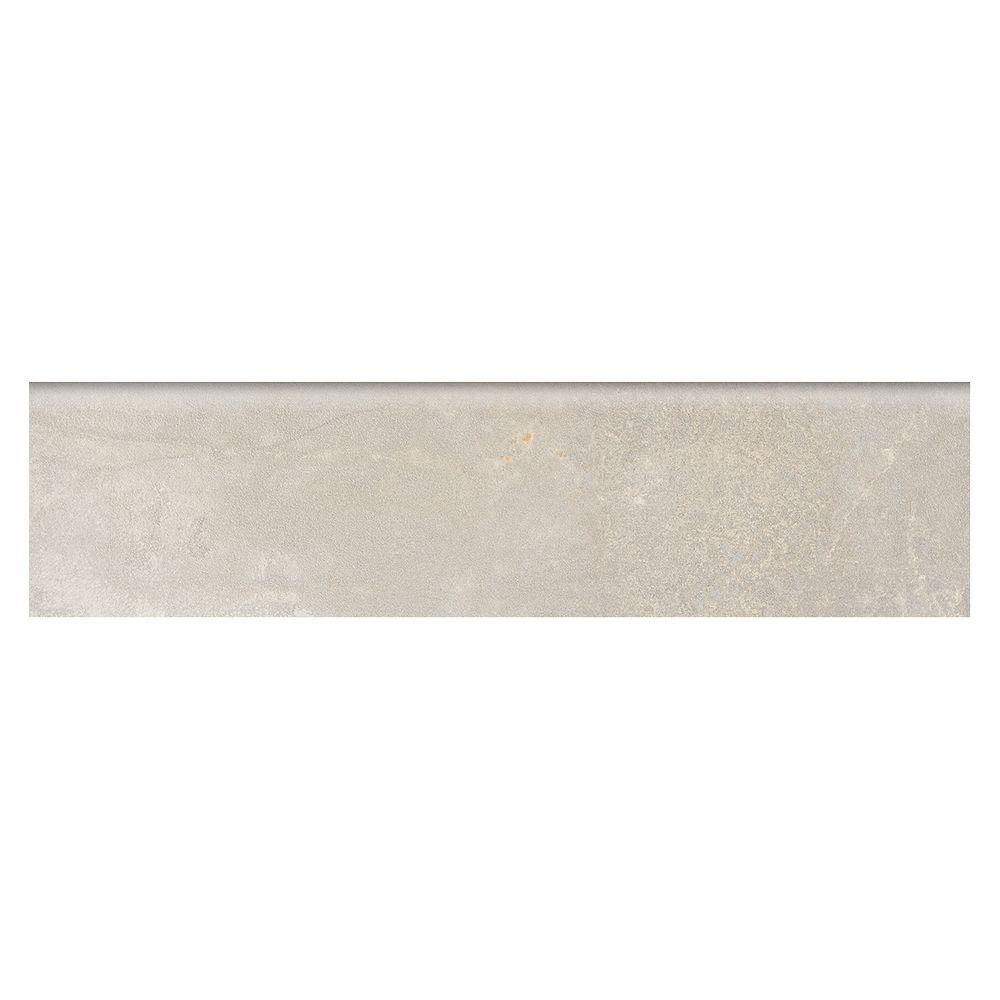 Marazzi Developed By Nature Pebble 3 In X 12 Glazed Porcelain Floor Bullnose