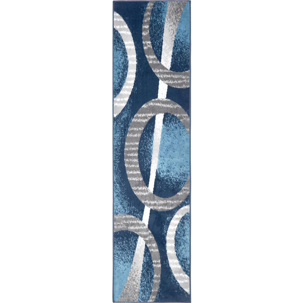 Home Dynamix Premium Blue 1 Ft 9 In X 7 Ft 2 In Indoor Area Rug