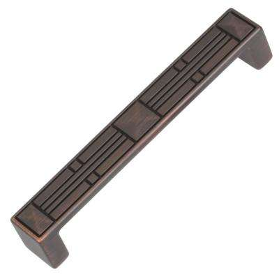 5 in. Center-to-Center Oil Rubbed Bronze Craftsman Collection Cabinet Pulls (10-Pack)
