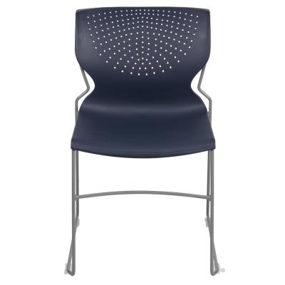 Navy Plastic Side Chair