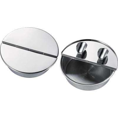 Zimmer Silver Plated Cigar Ashtray with 2-Cigar Rests