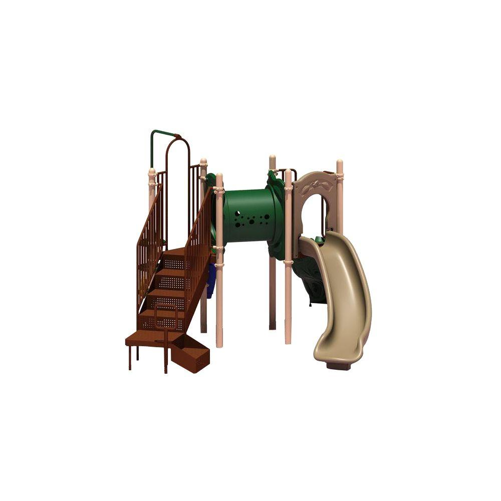 Ultra Play UPlay Today Deer Creek (Natural) Commercial Playset with Ground  Spike