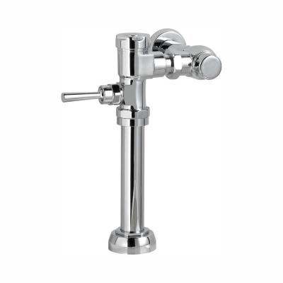 Ultima Manual 1.28 GPF FloWise Flush Valve for 1.5 in. Top Spud Toilet in Polished Chrome