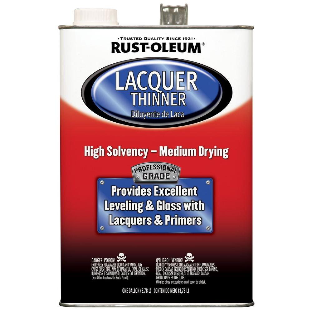 Rust-Oleum Automotive 1 gal. Low VOC Professional Lacquer Thinner (Case of 2)