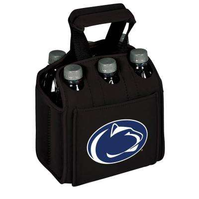 Penn State University Nittany Lions 6-Bottles Black Beverage Carrier