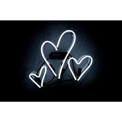 Oliver Gal 'Hearts' Plug-in Neon Lighted Sign