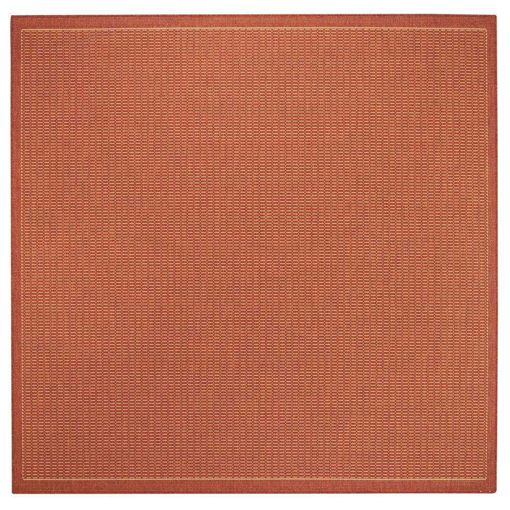 Home decorators collection saddlestitch terracotta natural for Home decorators rugs