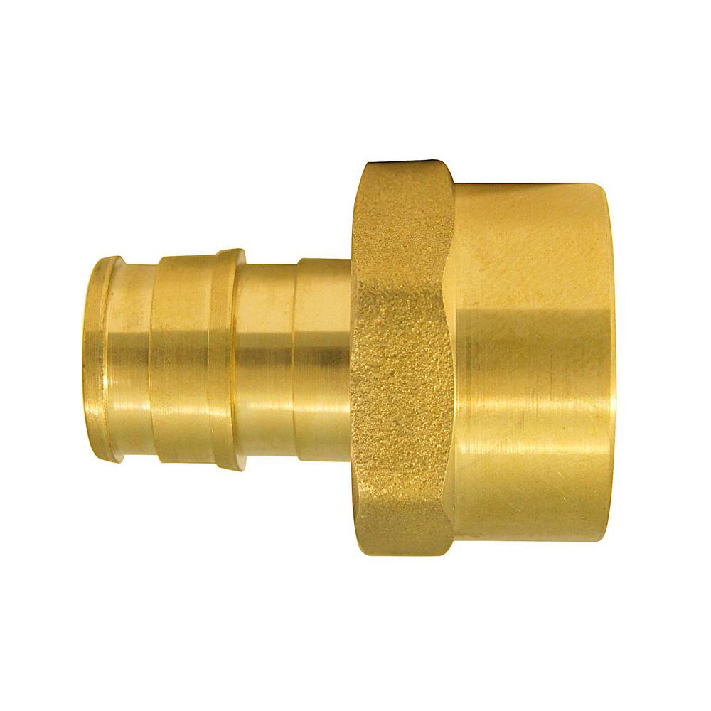 1/2 in. Brass PEX-A Expansion Barb x 3/4 in. FNPT Reducing