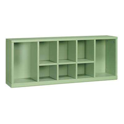 Craft Space 8-Cubby Center Organizer in Rhododendron Leaf