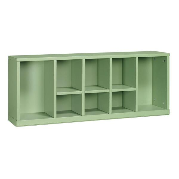 . Craft Space 8 Cubby Center Organizer in Rhododendron Leaf