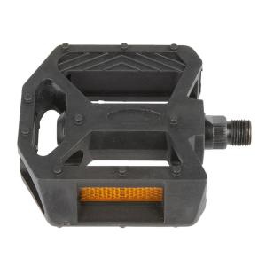 M-Wave 9/16 inch BMX Bicycle Plastic Pedal by M-Wave