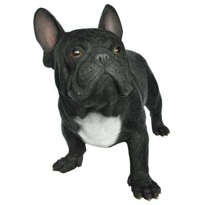 Black French Bulldog Statue