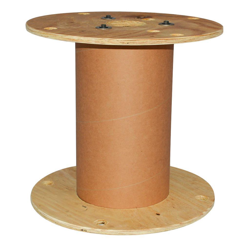 15.75L x 15.75W x 15.5 L N2-FD Plywood Reel with Fiber Drum