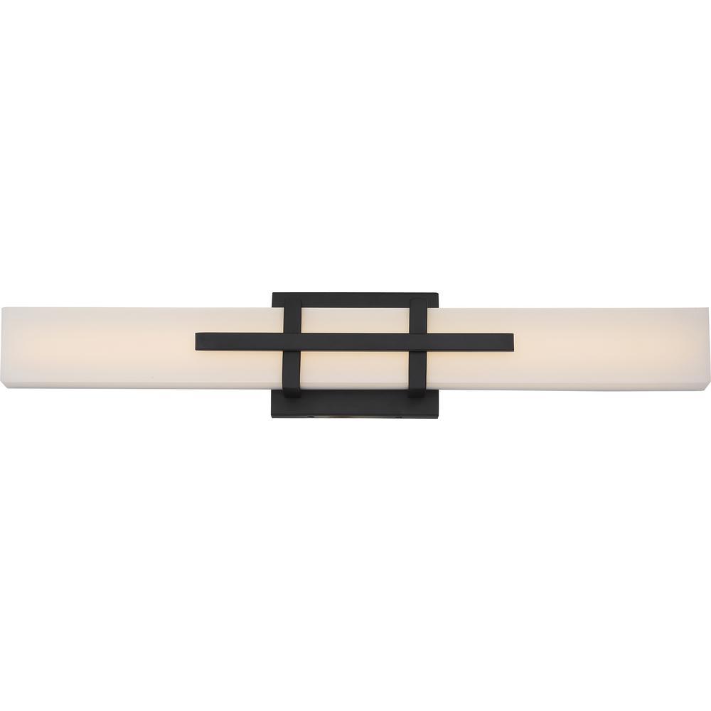 Filament Design 1-Light Aged Bronze Bath Light