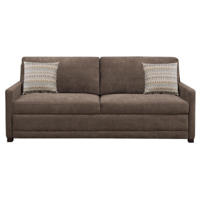 Chelsea Queen Size Sleeper Convertible Sofa Brown