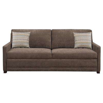 Chelsea Brown Convertible Sofa