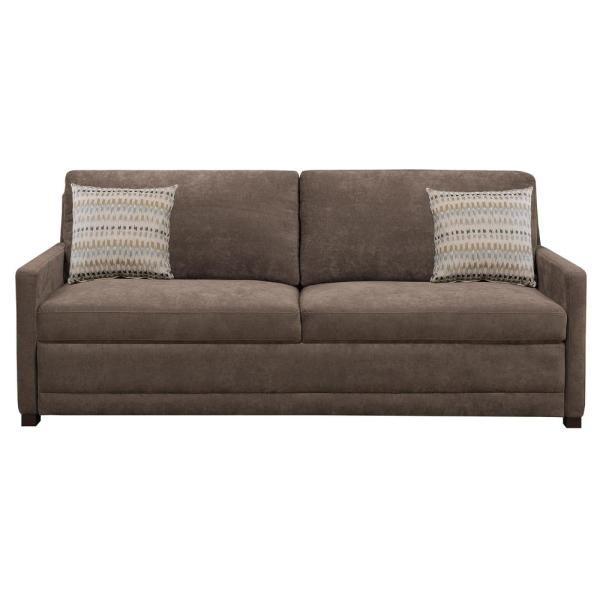Serta Chelsea Queen Size Sleeper Convertible Sofa Brown ...