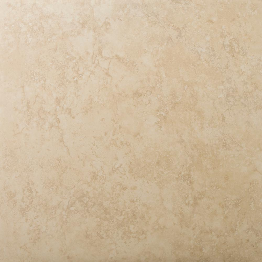 Odyssey Beige Matte 19.69 in. x 19.69 in. Ceramic Floor and