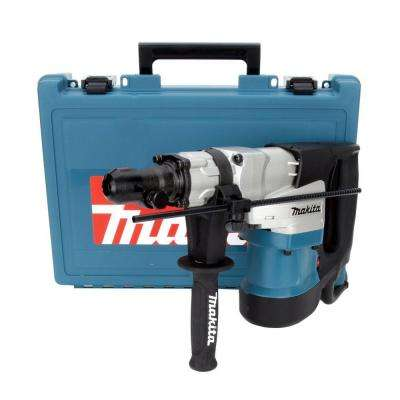 12 Amp 1-9/16 in. Corded Spline Concrete/Masonry Rotary Hammer Drill with Side Handle, D-Handle and Hard Case