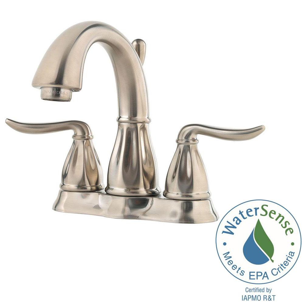 Centerset 2 Handle Bathroom Faucet