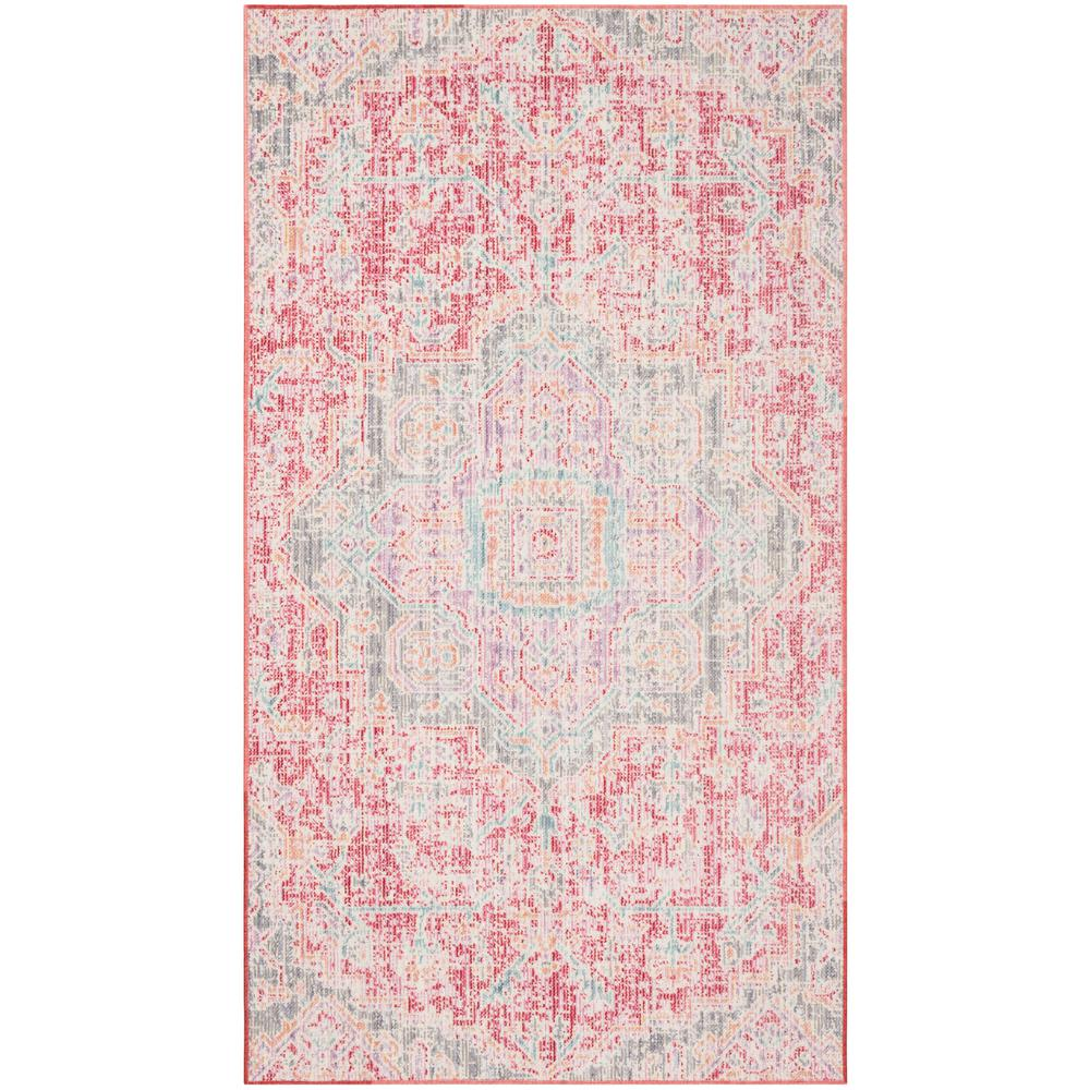6ff505c164 Safavieh Windsor Rose/Seafoam 3 ft. x 5 ft. Area Rug-WDS329F-3 - The ...
