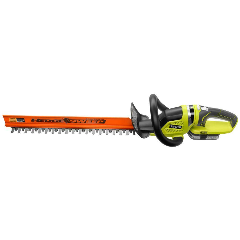 Reconditioned ONEPlus Lithium 22 in. 18-Volt Lithium-Ion Cordless Hedge Trimmer
