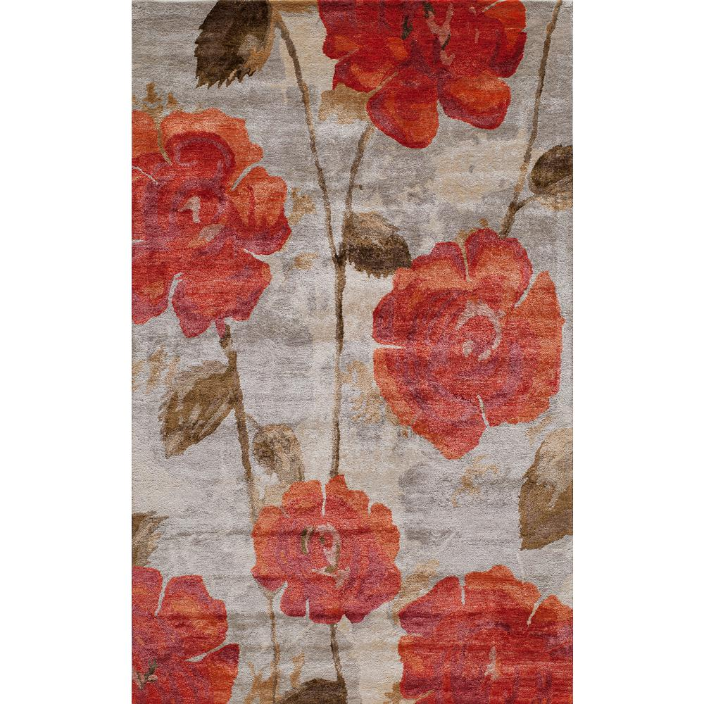 Red poppy flower rugs rugs compare prices at nextag momeni millenia red 5 ft x 8 ft indoor area rug mightylinksfo
