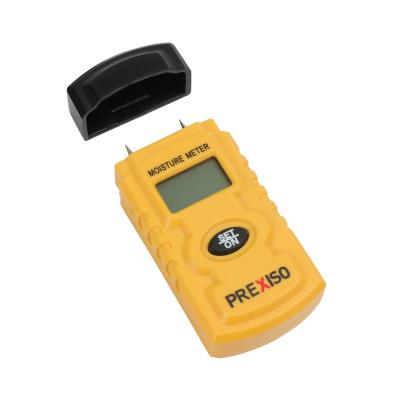 Moisture Meter, Stainless Steel Prongs, LCD Screen, Auto Shut-Off, Single-Button Operation (1-Pack)