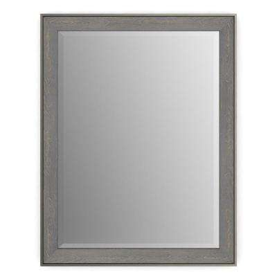 (S2) Rectangular Framed Mirror With Deluxe Glass