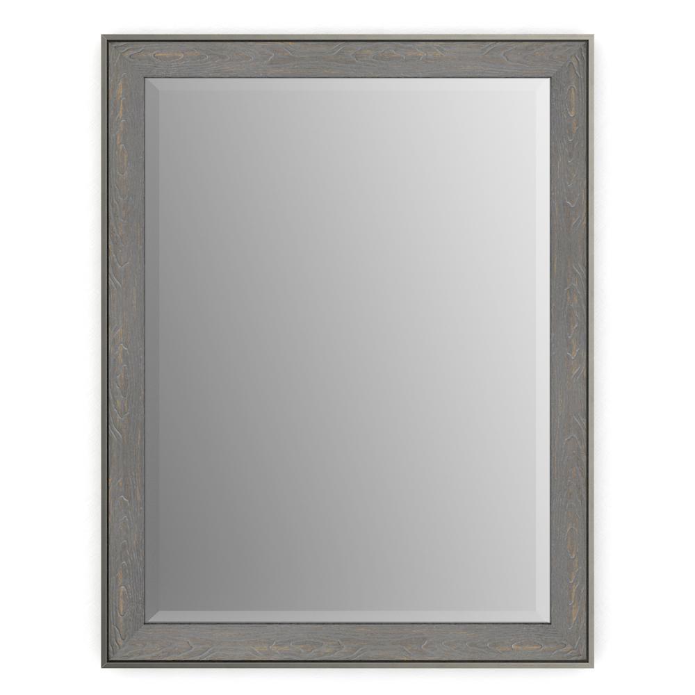 Delta 23 in. x 33 in. (S2) Rectangular Framed Mirror with Deluxe ...