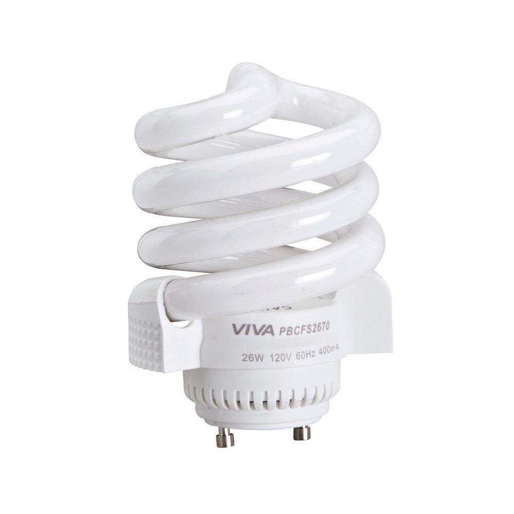 100-Watt Equivalent Soft White (2700K) GU24 CFL Light Bulb