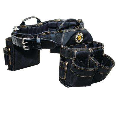 36 in. x 40 in. Electrician Tool Bag/Belt Combo - Large