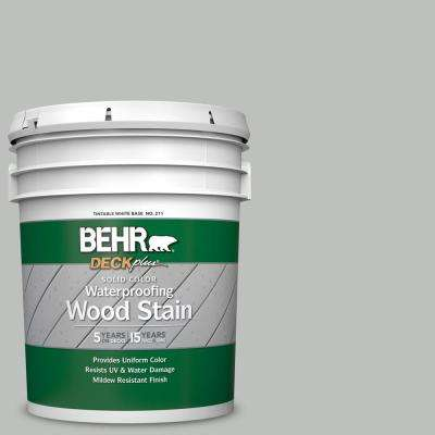 5 gal. #SC-365 Cape Cod Gray Solid Color Waterproofing Exterior Wood Stain