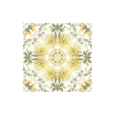 Pre-pasted - Yellow - Bohemian - Wallpaper - Decor - The Home Depot
