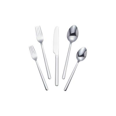 Brenner 20-Piece Stainless Steel Flatware Set (Service for 4)