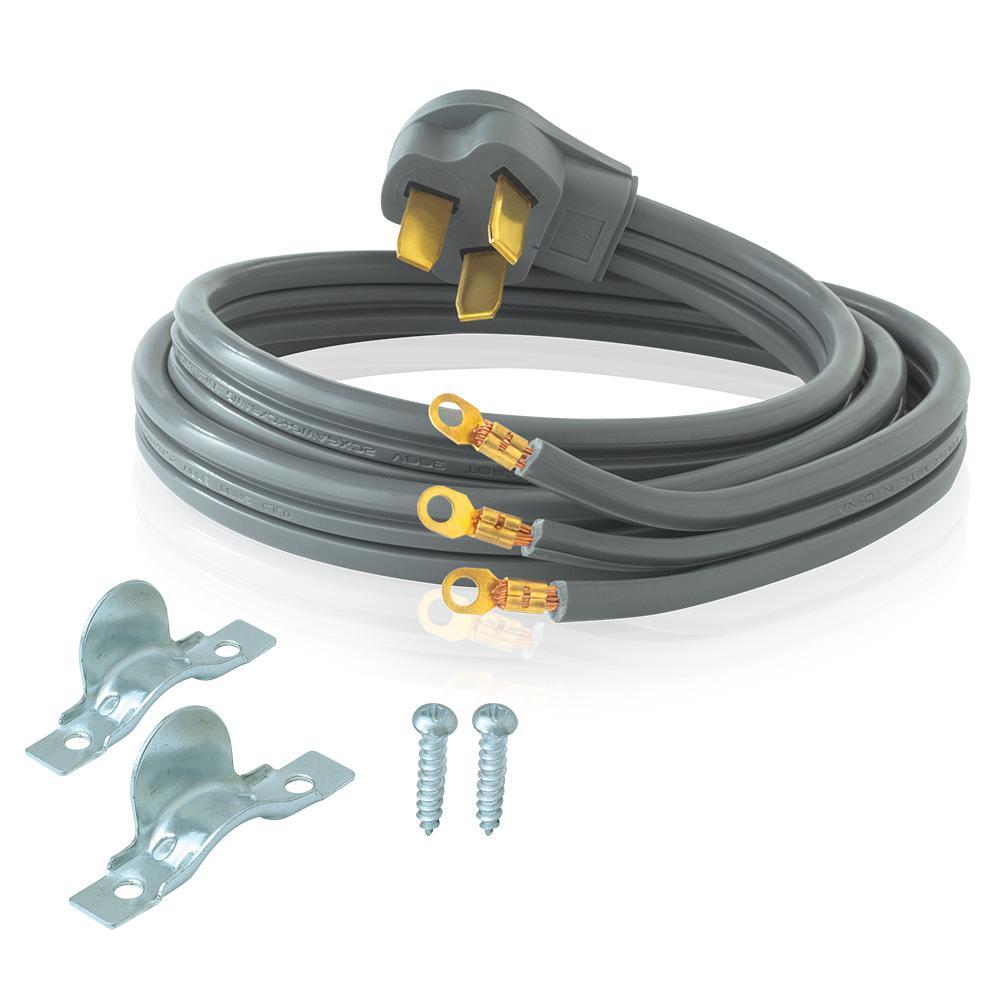 everbilt 4 ft 8/10 3wire electric range plug61256hd  the