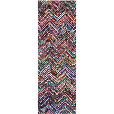 Nantucket Multi 2 ft. 3 in. x 11 ft. Runner Rug